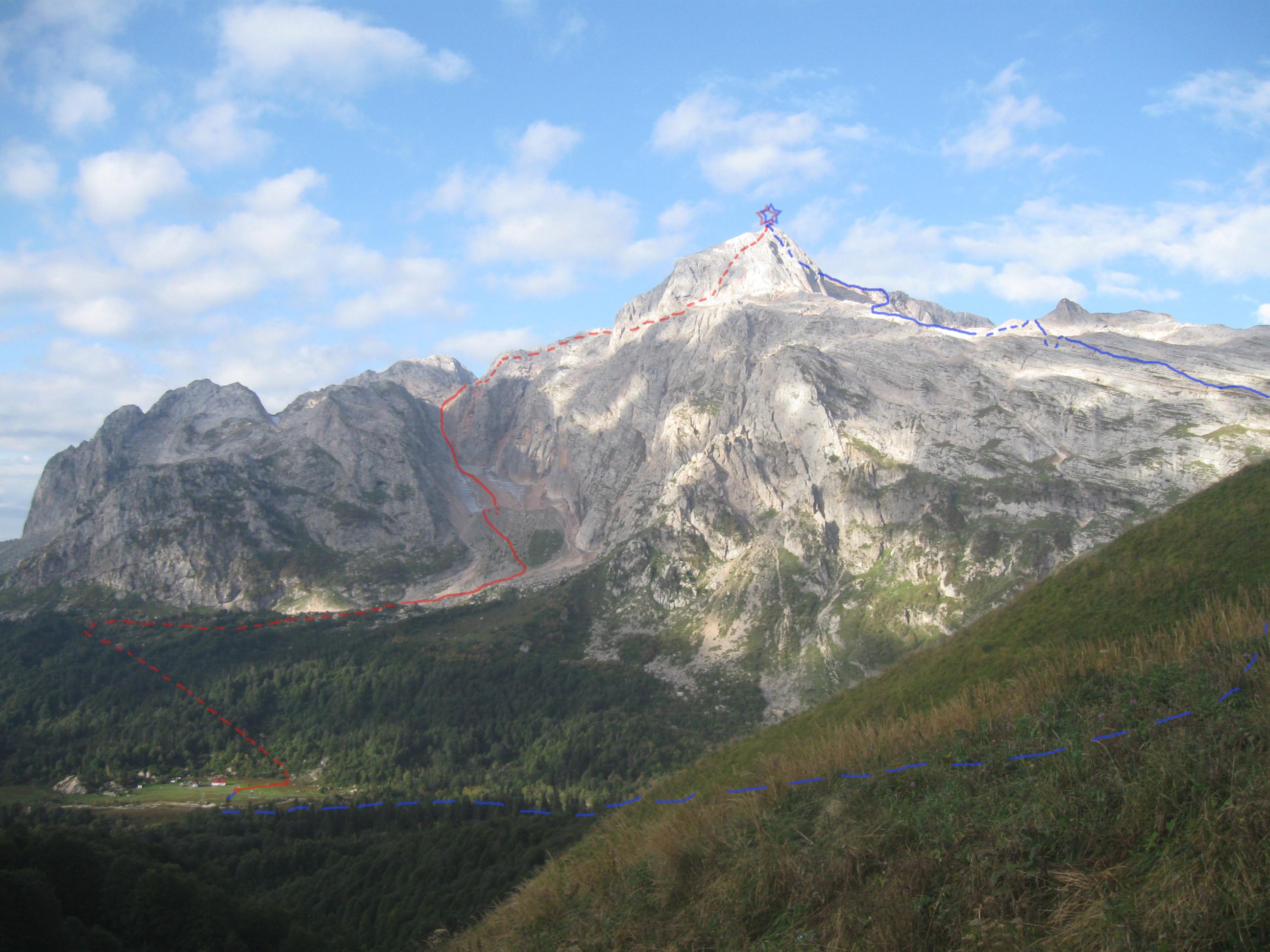 Фишт. Два восхождения в сентябре. Часть I