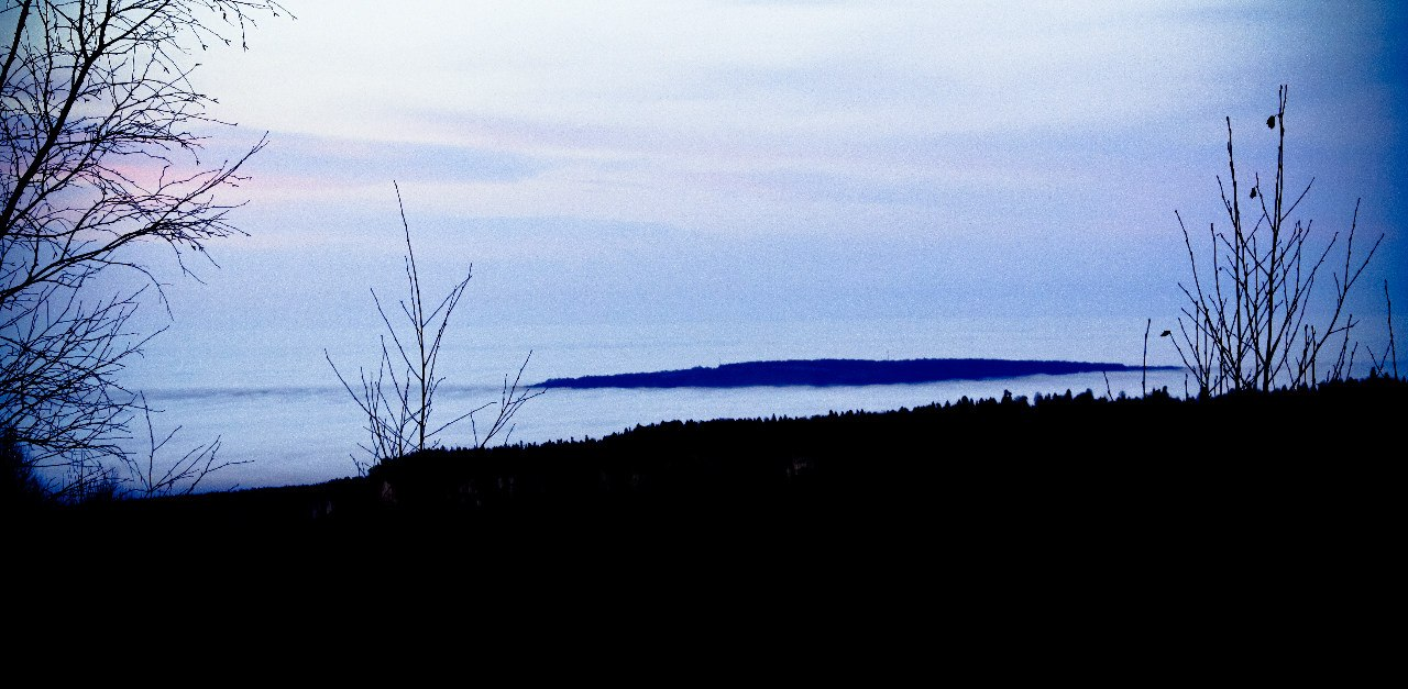 Облачный январь