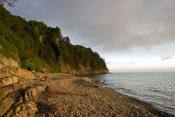 сбросились на море... пляж у скалы Киселева