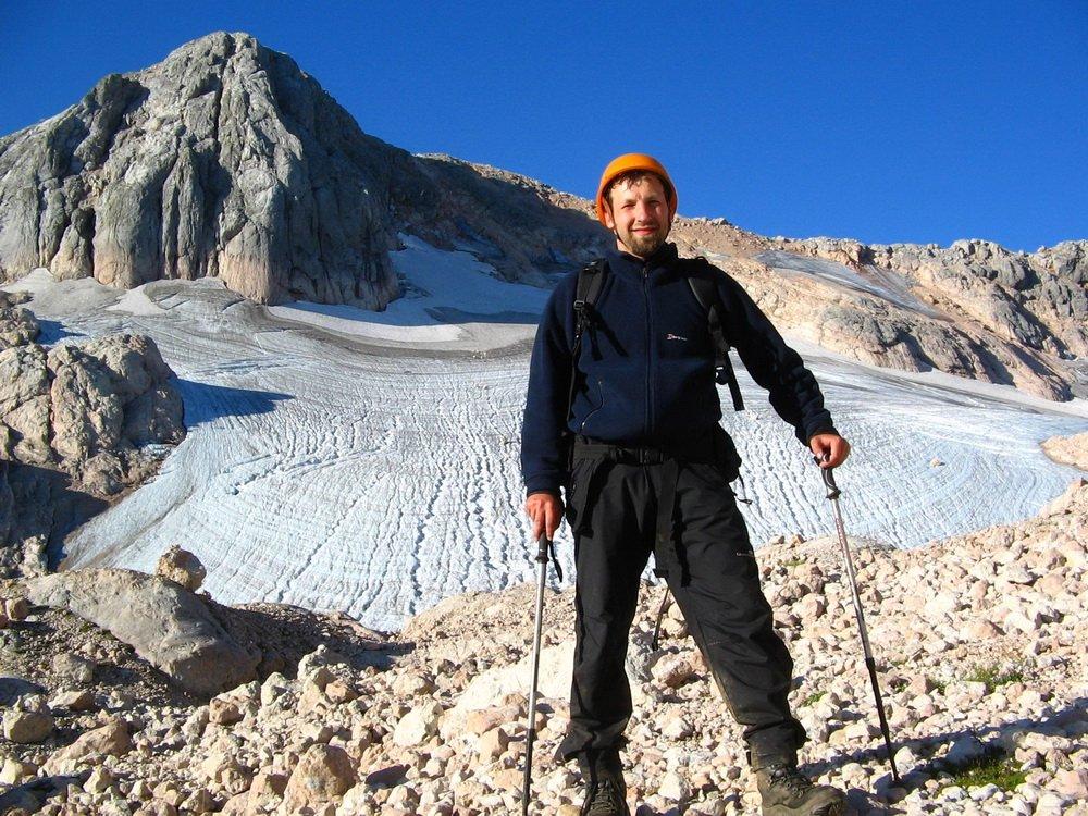 Перед ледником